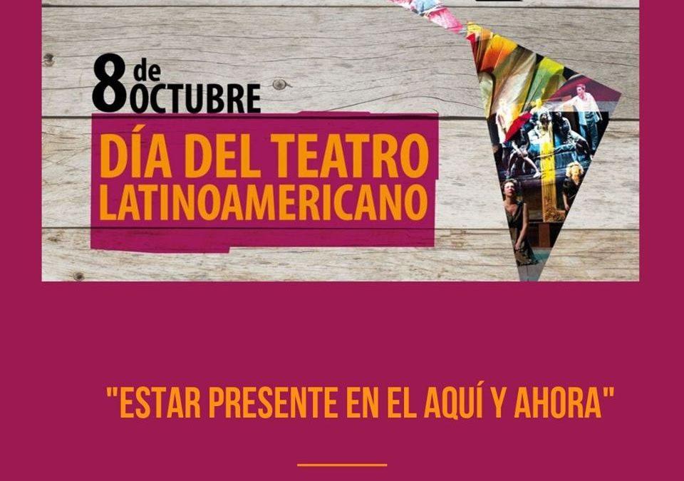 8 de octubre. Día del Teatro Latinoamericano